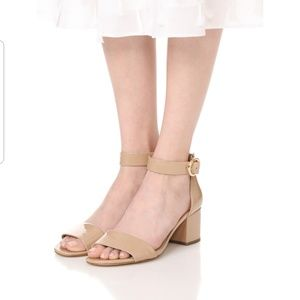 da4cf6737c9 MICHAEL Michael Kors Shoes - Michael Kors Lena Mid Heel Block Sandal